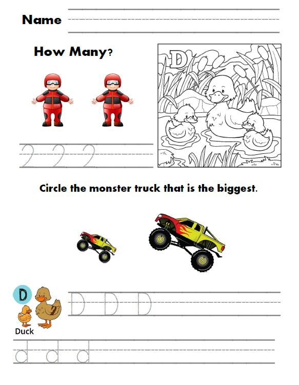 Race Car Preschool Workbook. This Race Car Preschool Workbook Offers A Fun Way To Learn Letters And Numbers Perfect For Or Kindergarten Students Who Need An Introduction. Kindergarten. Worksheet Vehicles Kindergarten At Clickcart.co